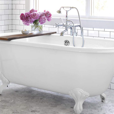 buying a clawfoot tub
