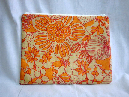 iPad Case- Orange Flowers