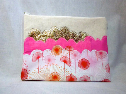 iPad Case- Pink Flowers