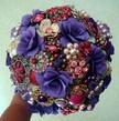 Custom Order - Brooch Wedding Bouquet - Paper Flower Wedding Bouquet, Rehearsal Bouquet, Toss Bouquet, Etc.