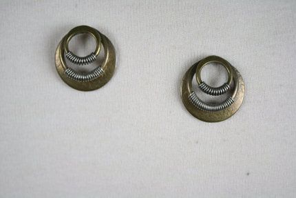 Vintage 1970s Majorie Baer Handmade Earrings