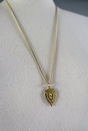 Vintage High School Grad Necklace 1977