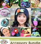 Fabric Headband & Accessory Bundle Pattern Pack
