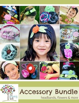 Fabric Headband & Accessory Bundle Pattern Pack