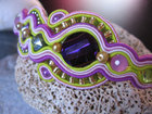 """Lovely"" Soutache Bracelet - Handmade in Italy"