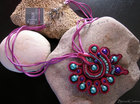 """The Shell"" Soutache Pendant Necklace"