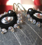 """Elegant"" Handmade Italian Soutache Earrings"