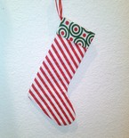 Christmas Stocking Easy PDF Sewing Pattern