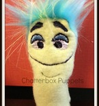 Inch Worm Finger Puppet