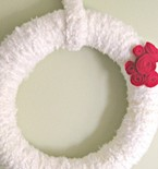 Alice in Wonderland's 'Painting the Roses Red' Wreath