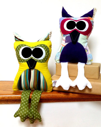 Ollie the Owl Plushie Pattern