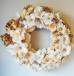Elegant Holiday Christmas Wreath Assorted Paper Flowers - Customized to your Colors