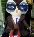 Doctor Who Inspired Owl Whoo Plushie - 10th Doctor!