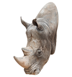 Rhino Mount Vinyl Wall Decal