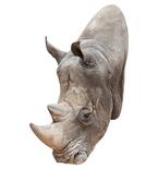 Rhino Mount Vinyl Wall Decal