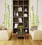 Bamboo Garden Vinyl Wall Decals