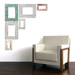 Weathered Frames Vinyl Wall Decals
