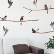 Tapestry Birds & Branches Vinyl Wall Decals