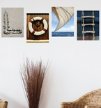 Nautical Love Collage Vinyl Wall Decals