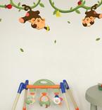 Monkeys Gone Bananas Vinyl Wall Decals