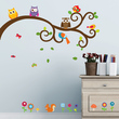 Owls and Friends Vinyl Wall Decals