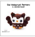 Owl Amigurumi - PDF Crochet Pattern