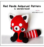 Red Panda Amigurumi - PDF Crochet Pattern