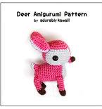 Deer Amigurumi - PDF Crochet Pattern