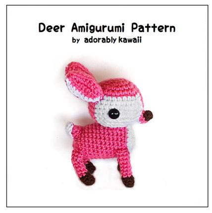 Deer Amigurumi - PDF Crochet Pattern - Adorably Kawaii ...