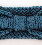 Turban Knot Bow Headband Earwarmer - Spearmint
