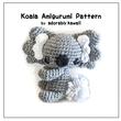 Koala Amigurumi - PDF Crochet Pattern