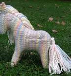 Shadow the Horse Knitting Pattern - Waldorf Toy PDF