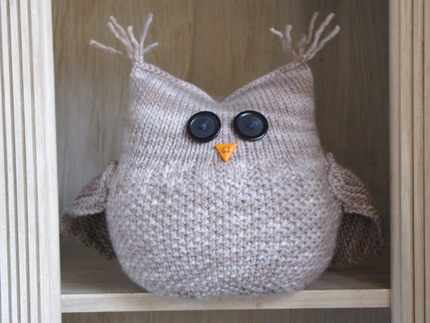 The Guardian Owl Pattern - Knitting PDF Pattern