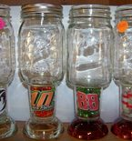 Racing Mason Jar glasses