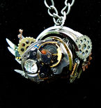 Steampunk Swirl Necklace