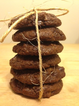 Gluten-Free Coconut Double Chocolate Chip Cookies (Package of 6)
