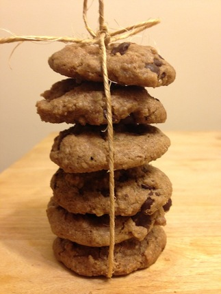 Vegan, Gluten-Free Chocolate Chip Cookies (Package of 6)
