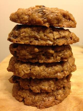Gluten Free Oatmeal Raisin Cookies (Package of 6)