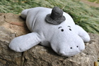 PDF Pattern: Hugh Manatee Stuffed Animal Sewing Pattern