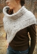 Katniss Hunting Cowl with Vest - PDF knitting pattern only