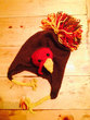 Tom Turkey Earflap Hat Knitting Pattern .pdf - Funny Thanksgiving or Fall Themed Hat