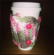 Pretty In Pink Crocheted Cup Sleeve