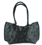 Elegant Black bag made from Seatbelts