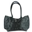 Elegant Black bag made from Seatbelts