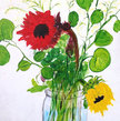 Flower Bouquet Modern Impressionist Painting Original Fine Art