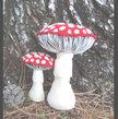 Amanita Muscaria Mycology Plush . Woodland Forest Plush . Flora & Fauna Sculpture