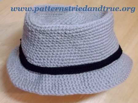 Crochet Pattern Diy For Fisherman Hunter Fedora Hat Scrapbooked
