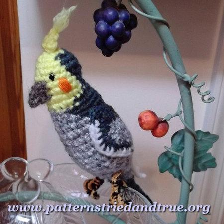 Crochet Parrot DIY Pattern for Bird Tutorial PDF Instruction | Etsy | 450x450