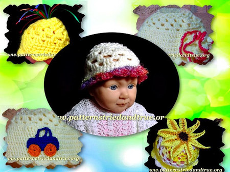 Crochet Pattern DIY for Beanie Hat Preemies and Newborns ...