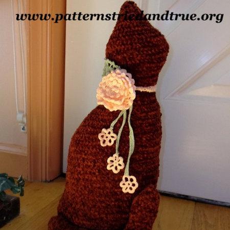 Cat - Doorstop, Stuffed Toy - Crochet Pattern | 450x450